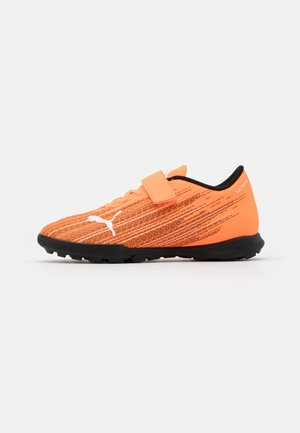ULTRA 4.1 TT V JR UNISEX - Astro turf trainers - shocking orange/black