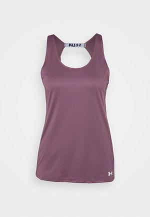FLY BY TANK - Sports shirt - purple