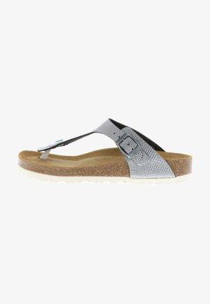 T-bar sandals - anthrazit