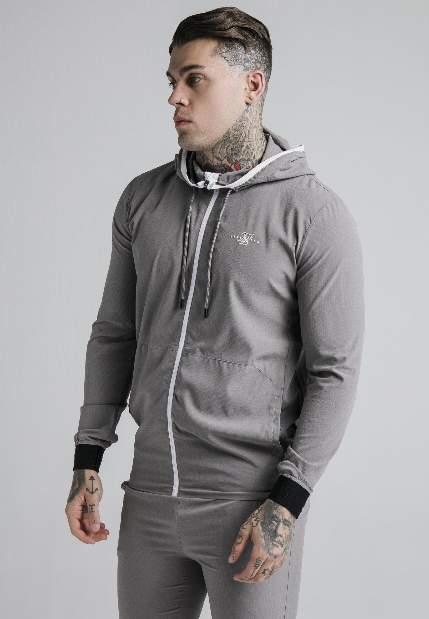 Men AGILITY ZIP THROUGH HOODIE - Summer jacket
