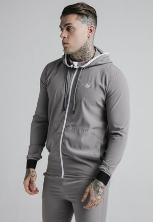 AGILITY ZIP THROUGH HOODIE - Korte jassen - grey