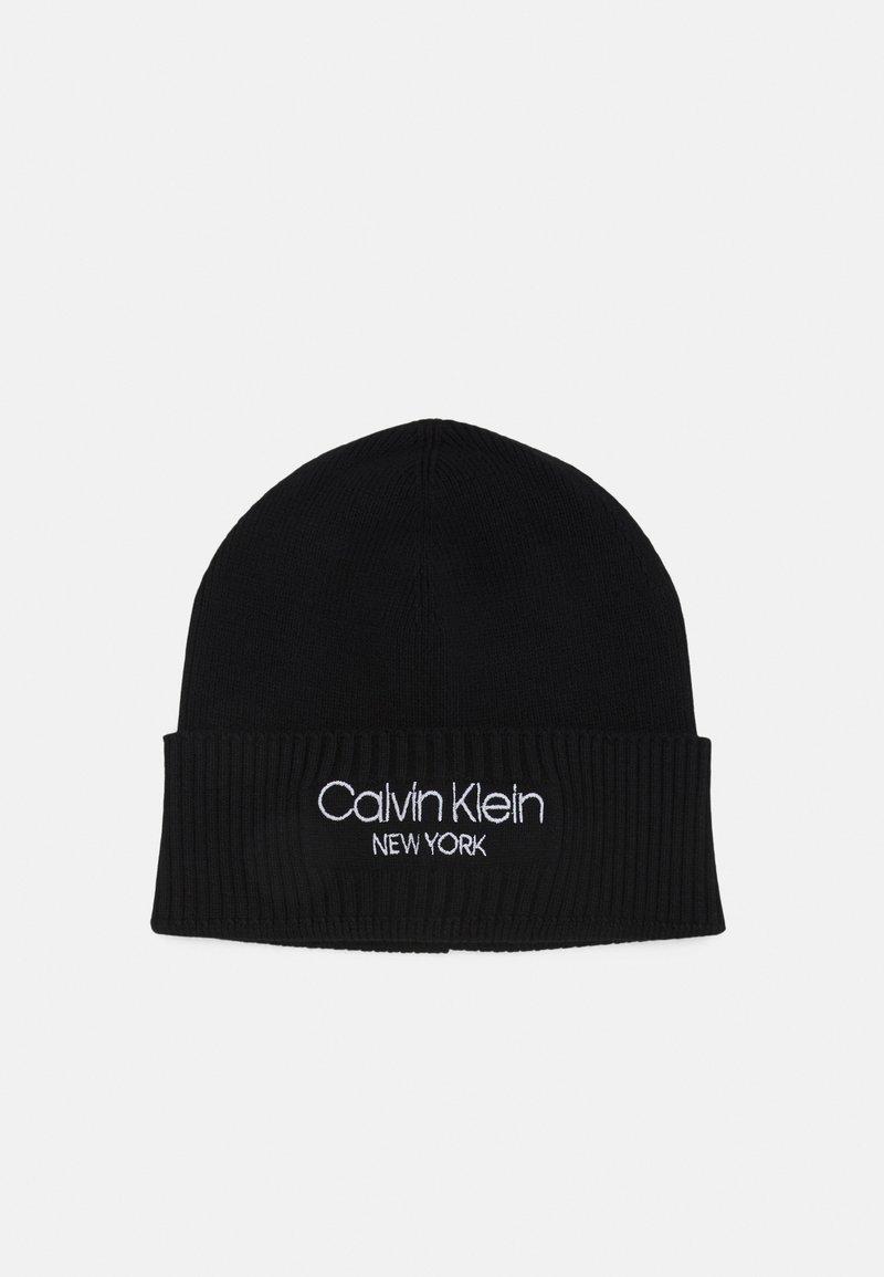 Calvin Klein - BEANIE UNISEX - Beanie - black