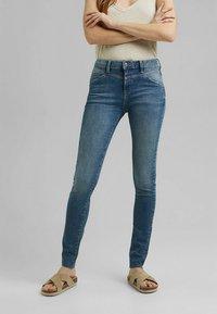 Esprit - Jeans Skinny Fit - blue medium washed - 0