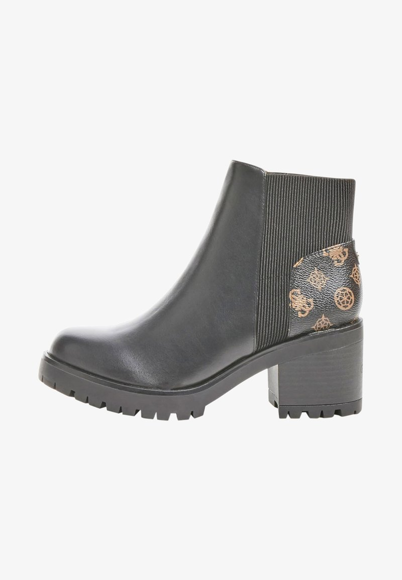 Guess - BRIA PEONY LOGO - Classic ankle boots - schwarz