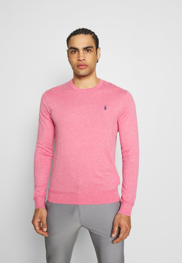 LONG SLEEVE - Svetr - wine rose heather