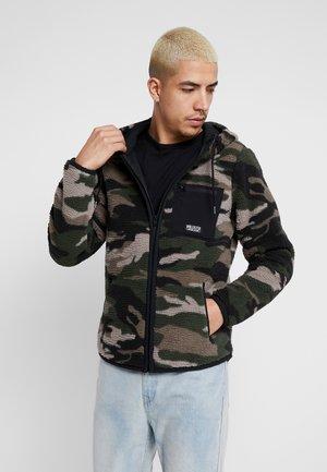 EXTERIOR SHERPA  - Fleece jacket - green camo