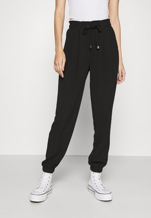 TEXTURE - Trousers - black