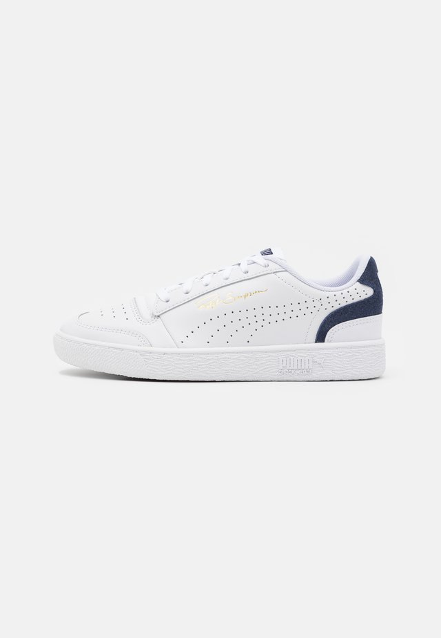 RALPH SAMPSON COLORBLOCK UNISEX - Sneakers laag - white/peacoat
