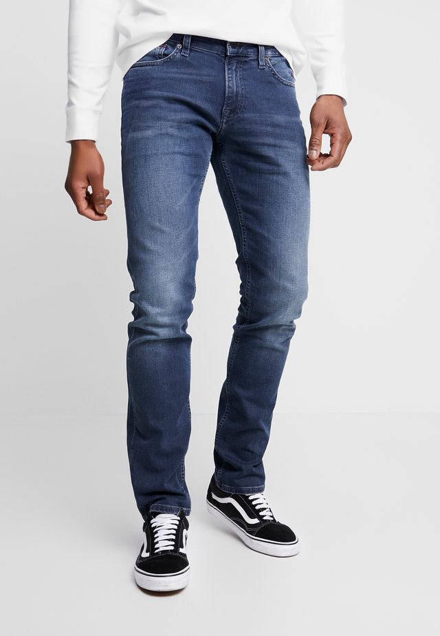 SCANTON - Straight leg jeans - dark blue