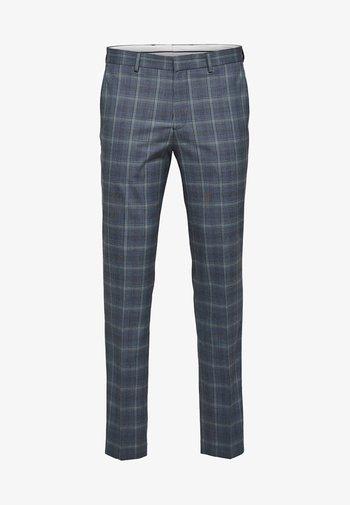 Suit trousers - light blue