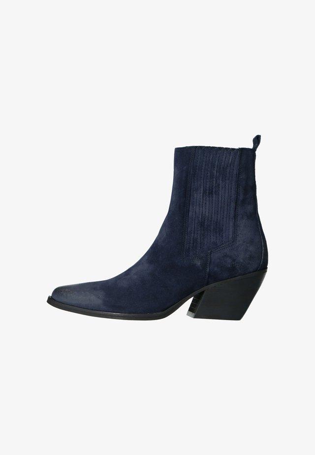 Ankle boots - Dunkelblau