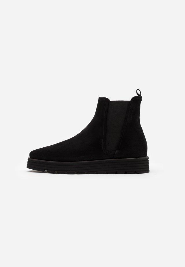 LEA  - Platform ankle boots - schwarz
