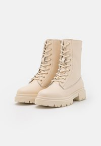 Anna Field - LEATHER - Platform ankle boots - offwhite - 2