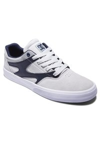 DC Shoes - KALIS VULC UNISEX - Trainers - grey/dark navy - 1