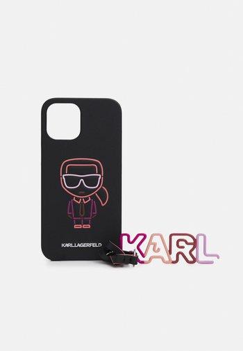 SURF NECK CASE 12PM SET - Phone case - black