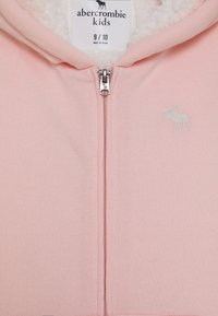 Abercrombie & Fitch - Zip-up hoodie - light pink - 2