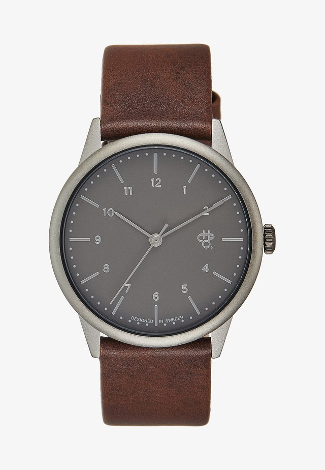 RAWIYA BETONG - Montre - grey/brown