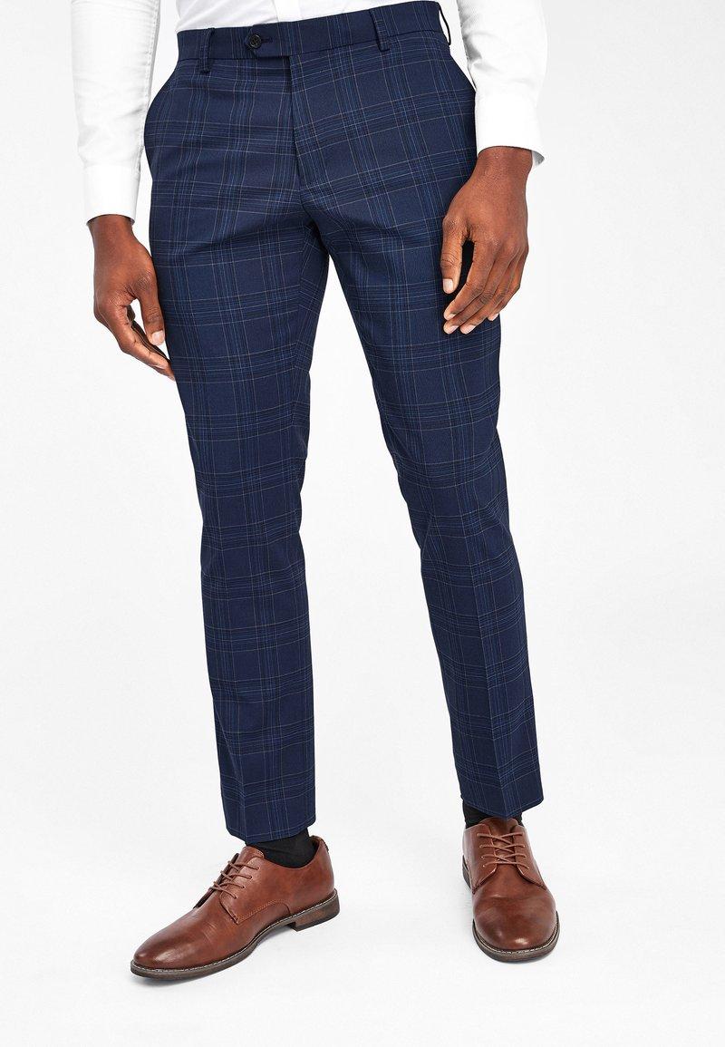 Next - Pantaloni eleganti - blue