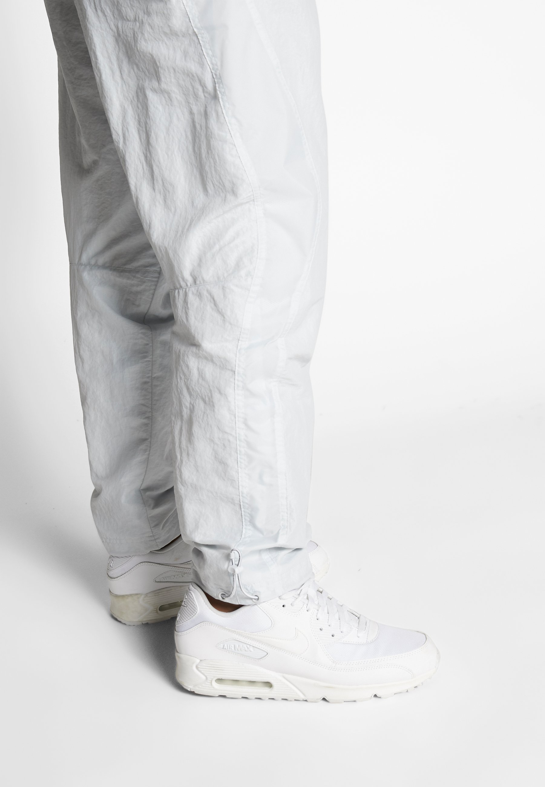 Jordan Pantalon de survêtement - pure platinum/laser orange