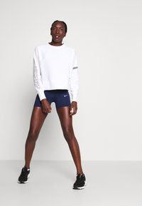 Nike Performance - DRY GET FIT - Sweatshirt - white/black - 1