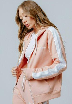 Sudadera con cremallera - pink