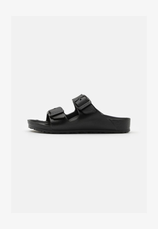 ARIZONA EVA PLAYGROUND UNISEX - Pool slides - black