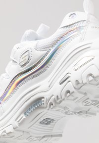 Skechers Sport - D'LITES - Trainers - white/silver - 2