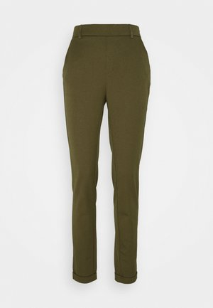 VMMAYA LOOSE SOLID PANT - Trousers - ivy green