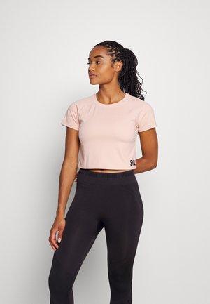 CROPPED  - T-shirt imprimé - rosa