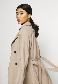Dorothy Perkins - BUTTON FRONT - Trench - stone - 4