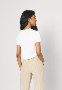 Even&Odd - T-shirt basique - white - 3