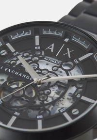 Armani Exchange - HAMPTON - Cronógrafo - black - 4