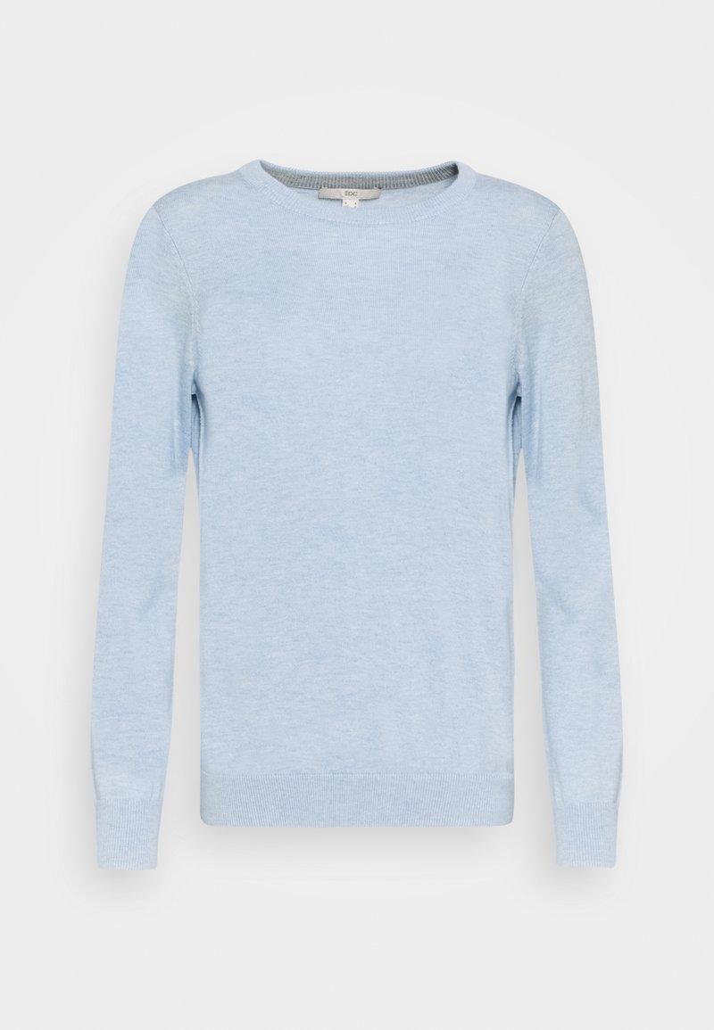 edc by Esprit - COO - Jumper - light blue lavender