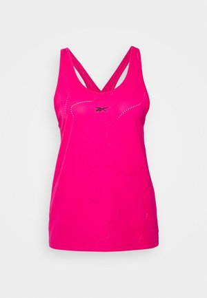 PERFORATED TANK - Top - pursuit pink