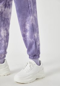 PULL&BEAR - Tracksuit bottoms - mauve - 4