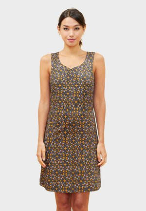 KHADIJA - Day dress - brown