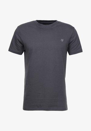C-NECK - T-shirt basic - gray pinstripe