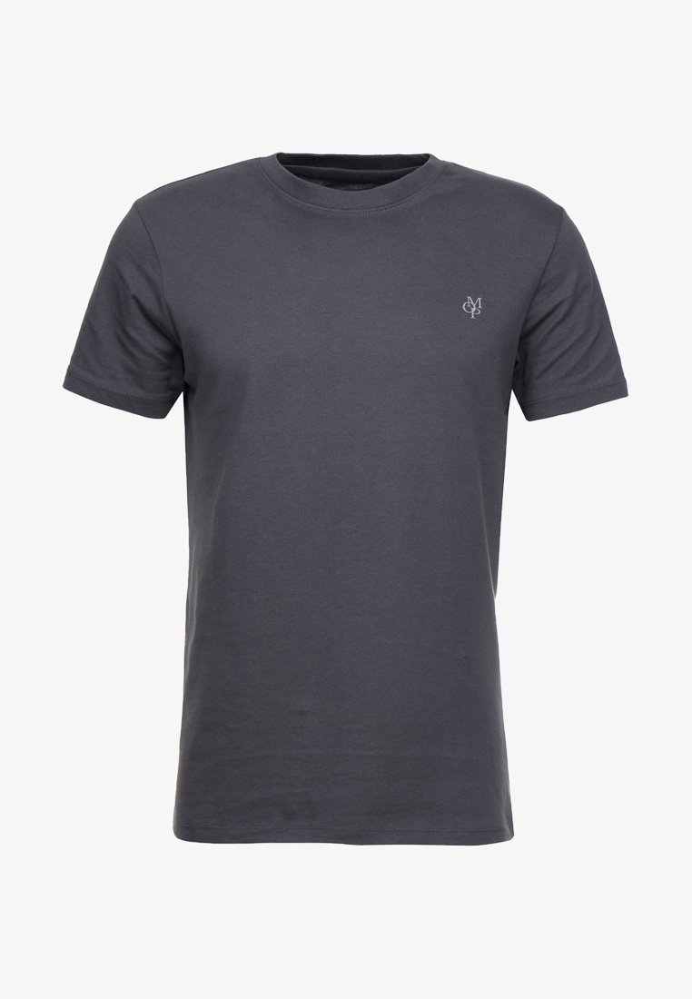 Marc O'Polo C-NECK - T-Shirt basic - black/schwarz AUk8vZ