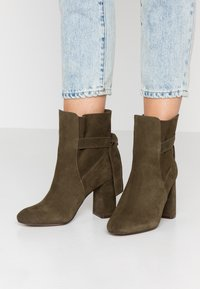 mint&berry - Classic ankle boots - khaki - 0