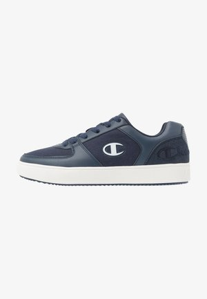 LOW CUT SHOE JADE - Basketball shoes - navy