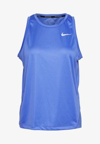 Nike Performance - MILER TANK - Sports shirt - sapphire/reflective silver - 4