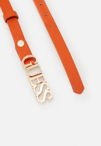 Guess - UPTOWN CHIC ADJUST PANT BELT - Belt - orange - 1