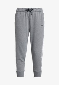 Nike Performance - DRY GET FIT - Tracksuit bottoms - carbon heather/black - 3