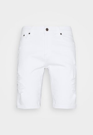 Short en jean - white destroy