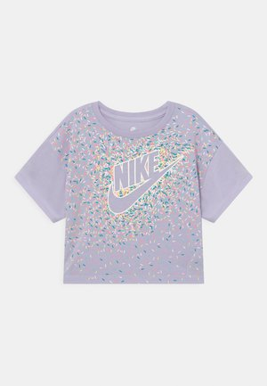 DRAPEY GRAPHIC - T-shirt con stampa - purple chalk