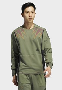 adidas Performance - PRIME COLD.RDY TOP CREW SWEATSHIRT - Sweater - green - 0