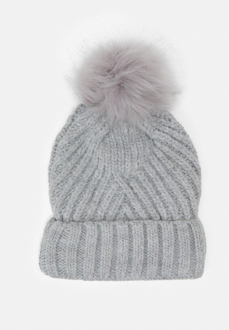Marks & Spencer London - GEO BOBBLE HAT - Beanie - grey