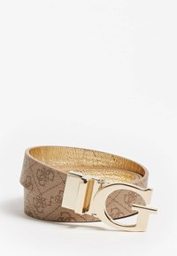 Guess - MIKA MIKA PANT BELT - Belt - gold multi - 2