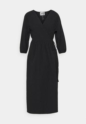 OAKVILLE WRAP DRESS - Day dress - black