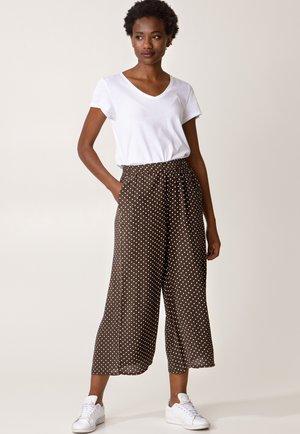 LOVISA - Trousers - brown